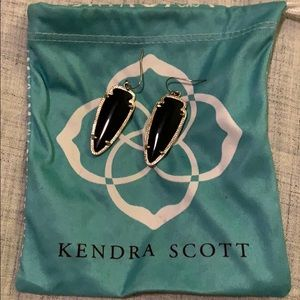 Kendra Scott Earring - Black Stone